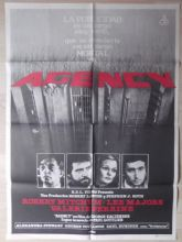 Agency, Spanish Movie Poster, Robert Mitchum, Lee Majors, '80